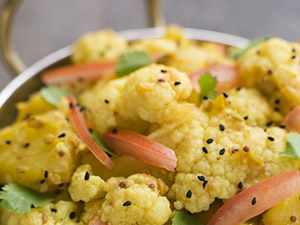 Cauliflower and Potato Subji