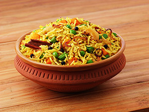Masala Rice (Vegetable Spiced Rice)